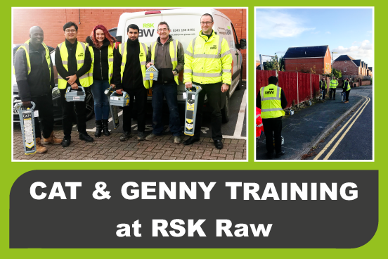 RSK Raw staff on a course for CAT and Genny training