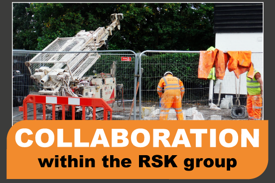 RSK Raw collaborate with Dynamic Sampling UK Ltd on a drilling investigation.