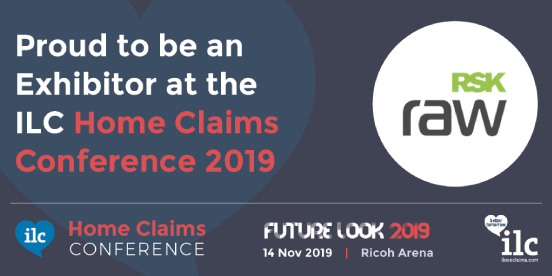 RSK Raw Exhibitor listing for ILC Home Claims Conference 2019