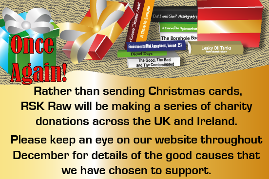 RSK Raw will donate to charities across the UK and Ireland instead of sending Christmas cards this year.